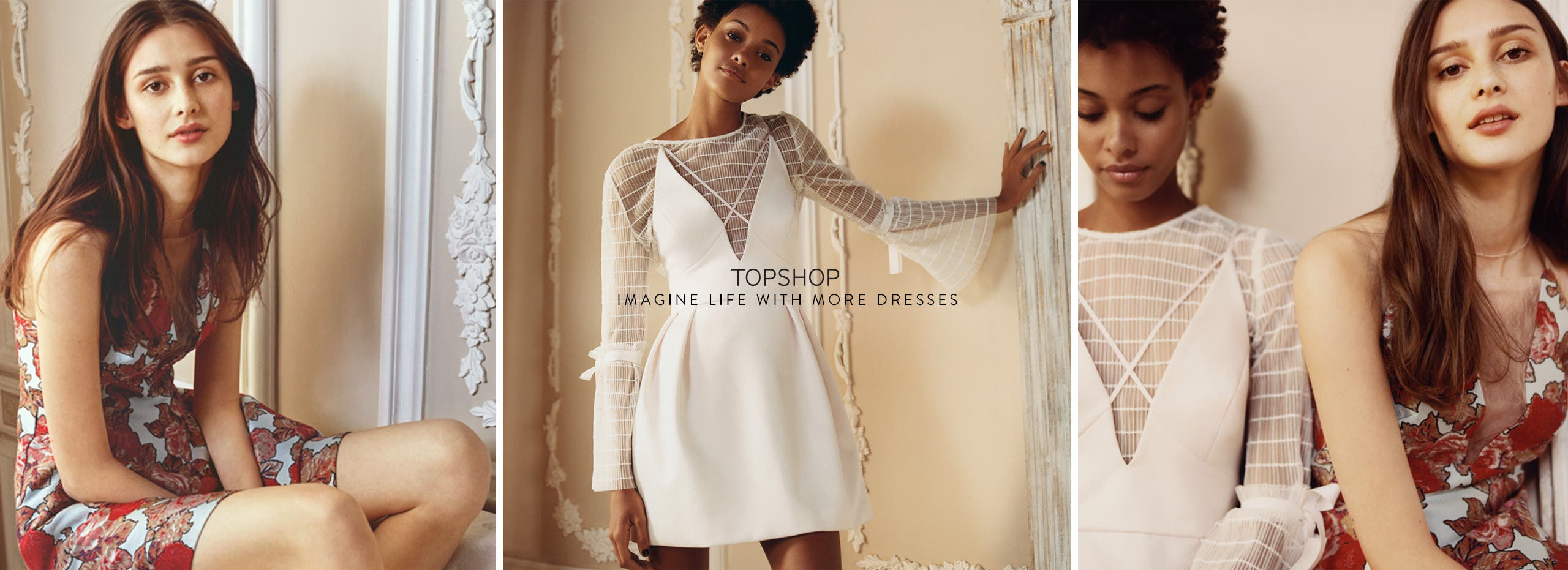 Imagine life with more Topshop dresses.