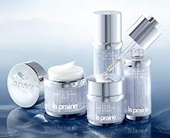 La Prairie Cellular Swiss Ice Crystal Collection skincare for women.