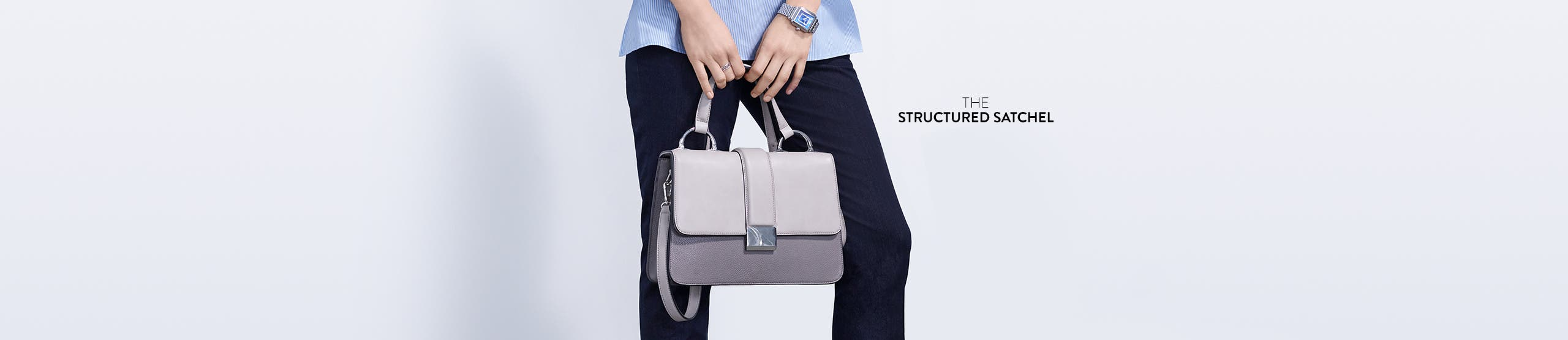 The structured satchel.