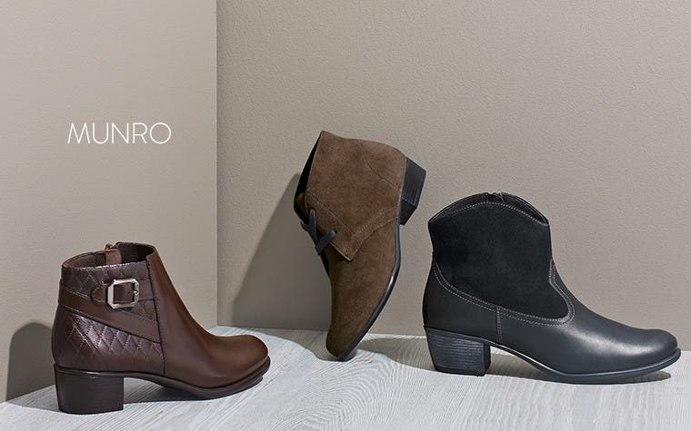 Munro comfort booties.