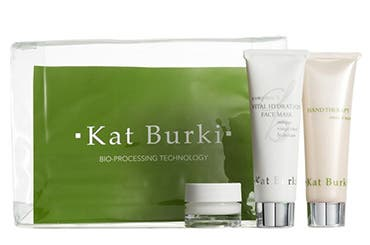Receive a free 3-piece bonus gift with your $150 Kat Burki purchase