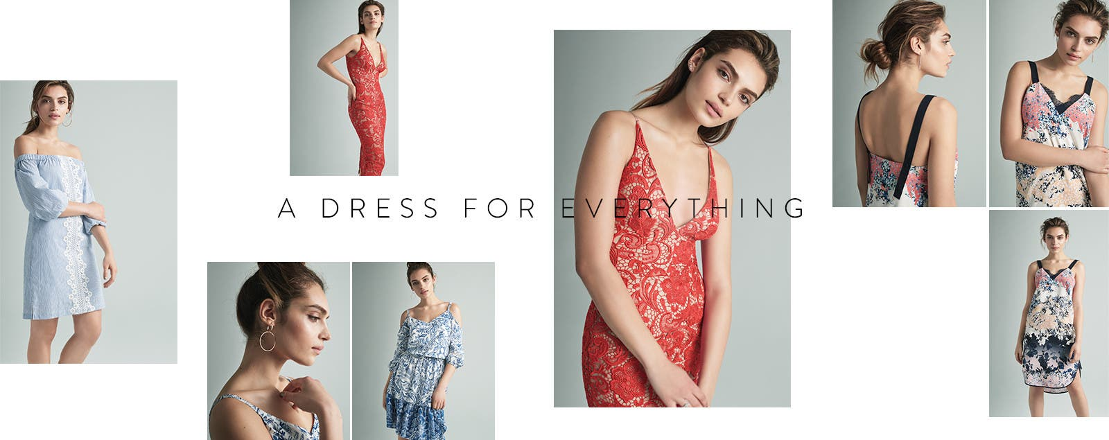 A dress for every spring event.