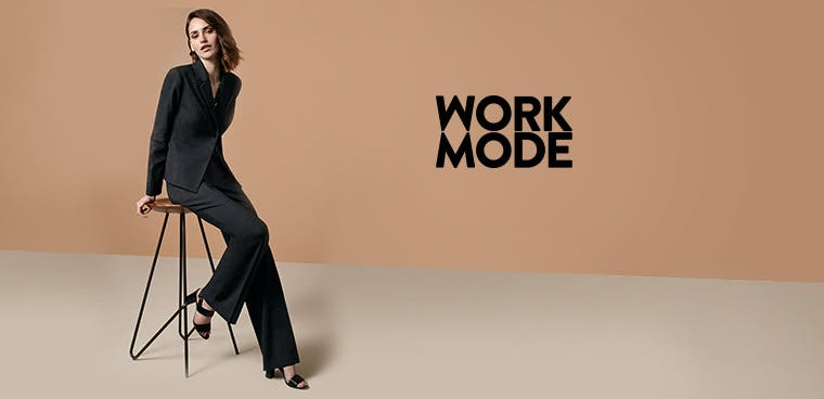 Work mode: affordable work clothes for women.