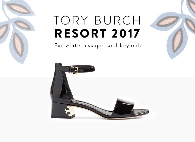Tory Burch Resort 2017: for winter escapes and beyond.