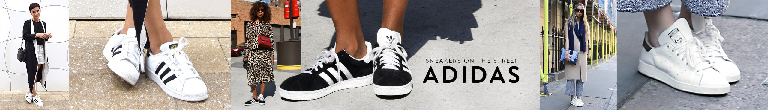 Sneakers on the street: adidas.