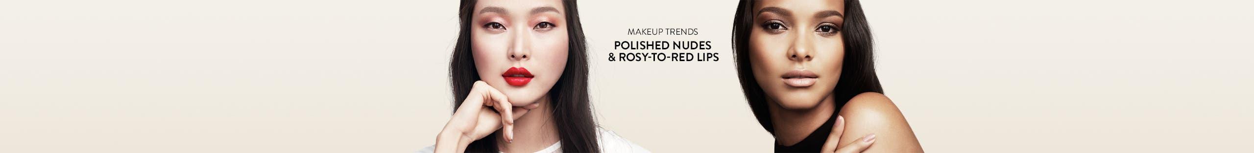 Spring makeup trends.