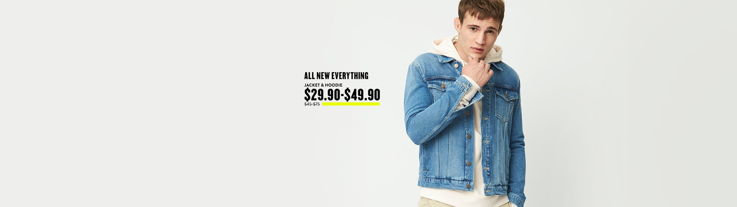 All new everything from Topman.