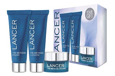 Receive a free 3-piece bonus gift with your $150 LANCER purchase