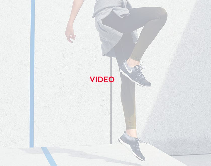 What moves you: women's activewear video.