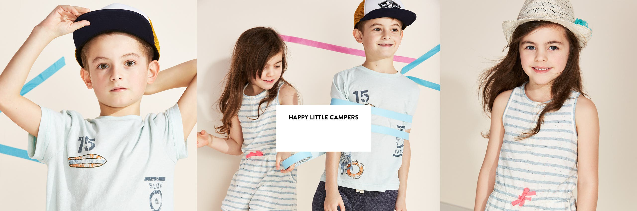 Little kids' clothing for summer camp and beyond.