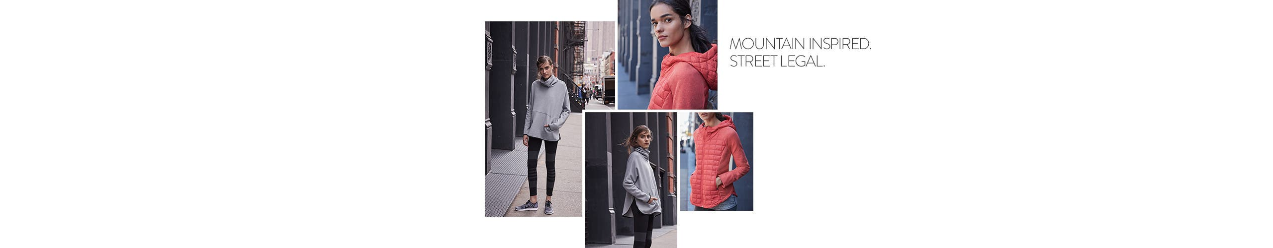 Mountain inspired, street legal: The North Face women's clothing