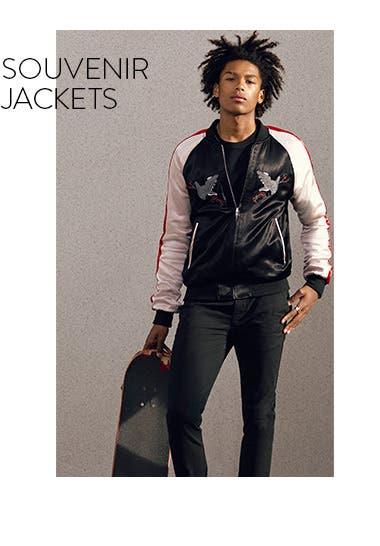 Souvenir jackets.