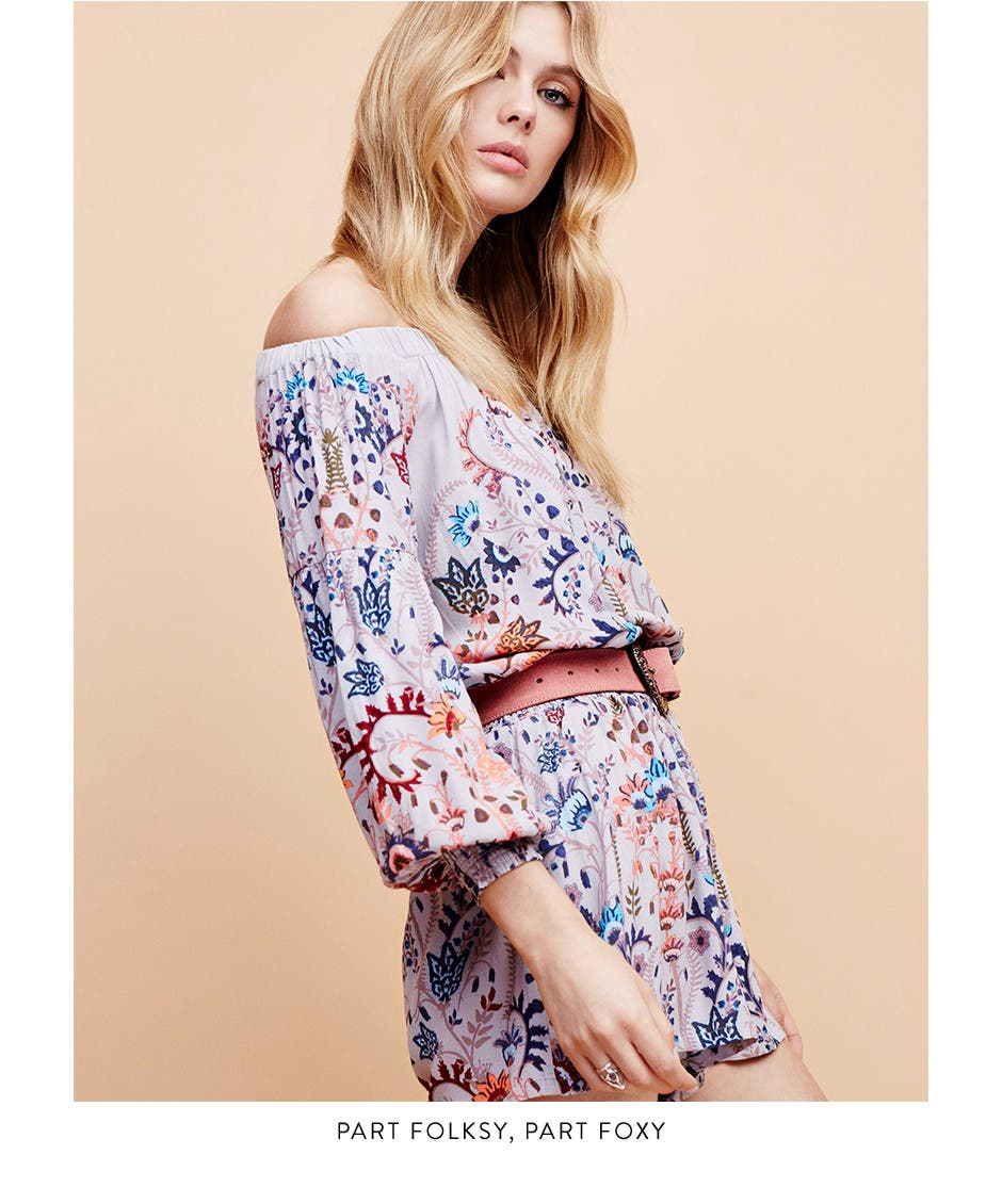 Boho trend clothing for women.