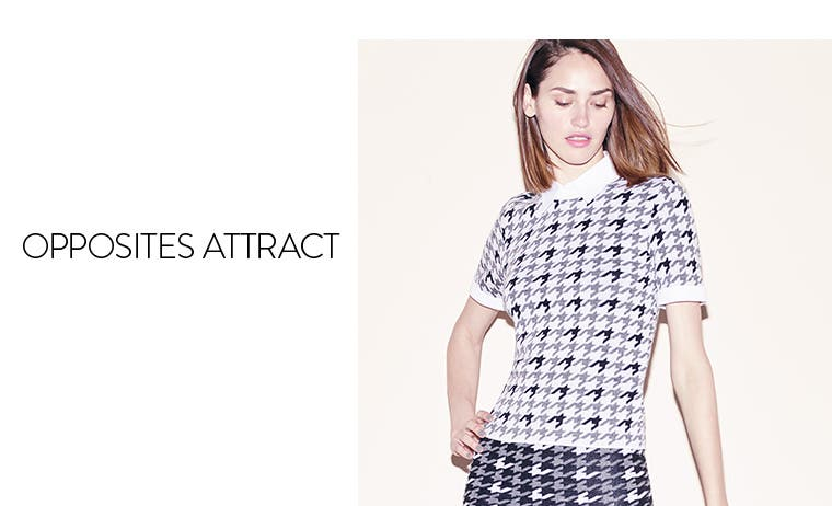 Opposites attract: Alice + Olivia.