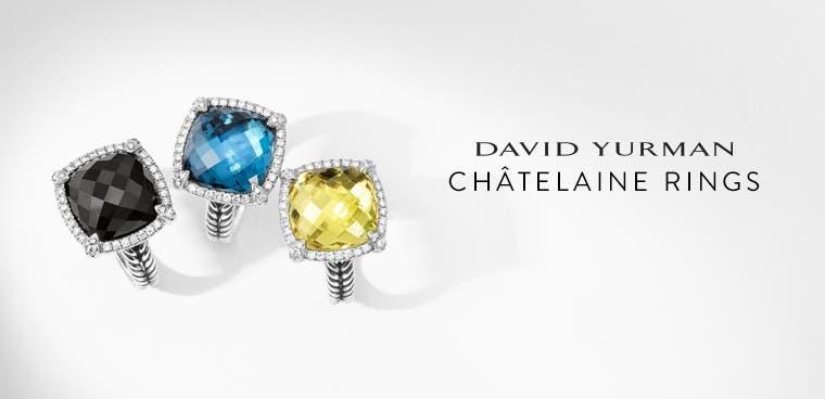 David Yurman Chatelaine rings.