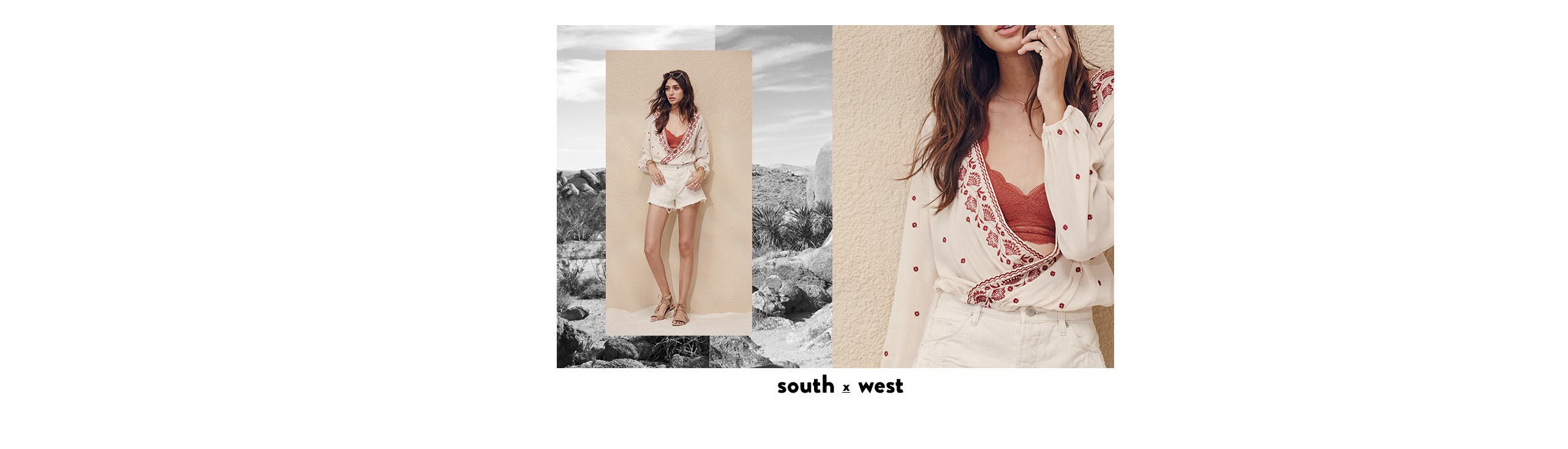 South x West: boho trend clothing and more.