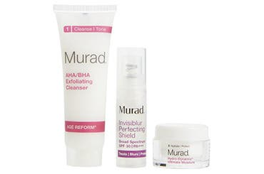 Receive a free 3-piece bonus gift with your $125 Murad purchase