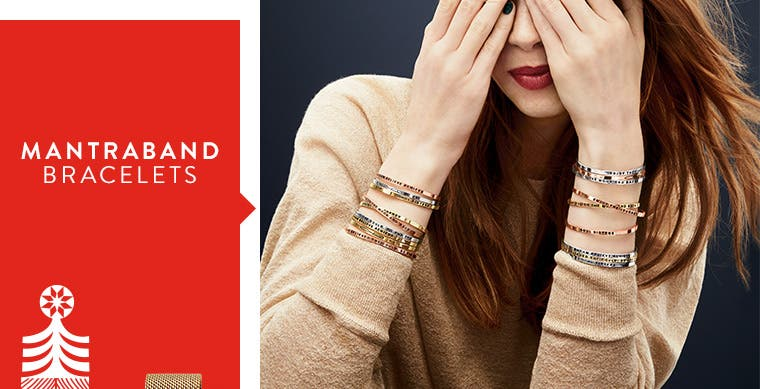 MantraBand bracelets.