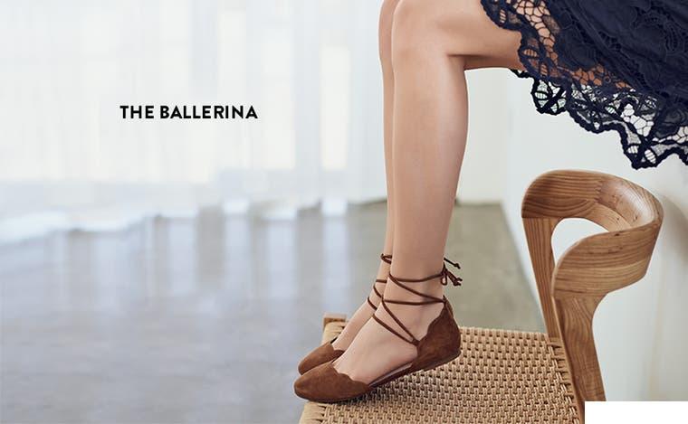 The ballerina.