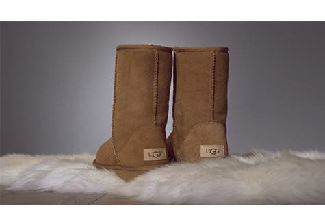 The new UGG Classic boot.