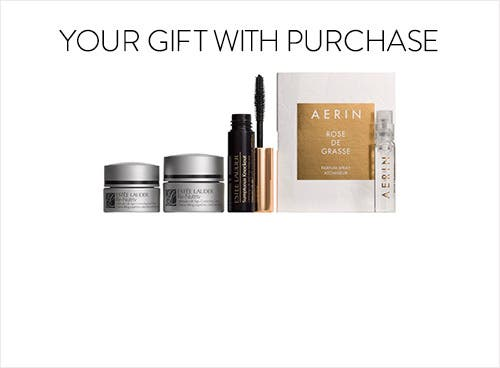Receive a free 4-piece bonus gift with your $65 Estée Lauder purchase