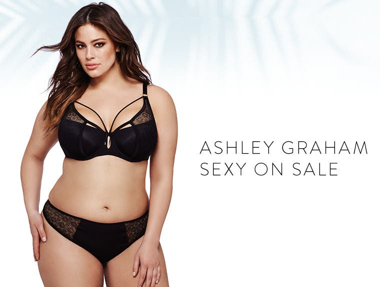 Ashley Graham lingerie: sexy on sale.