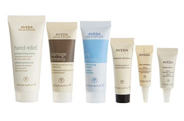 Aveda gift with purchase.