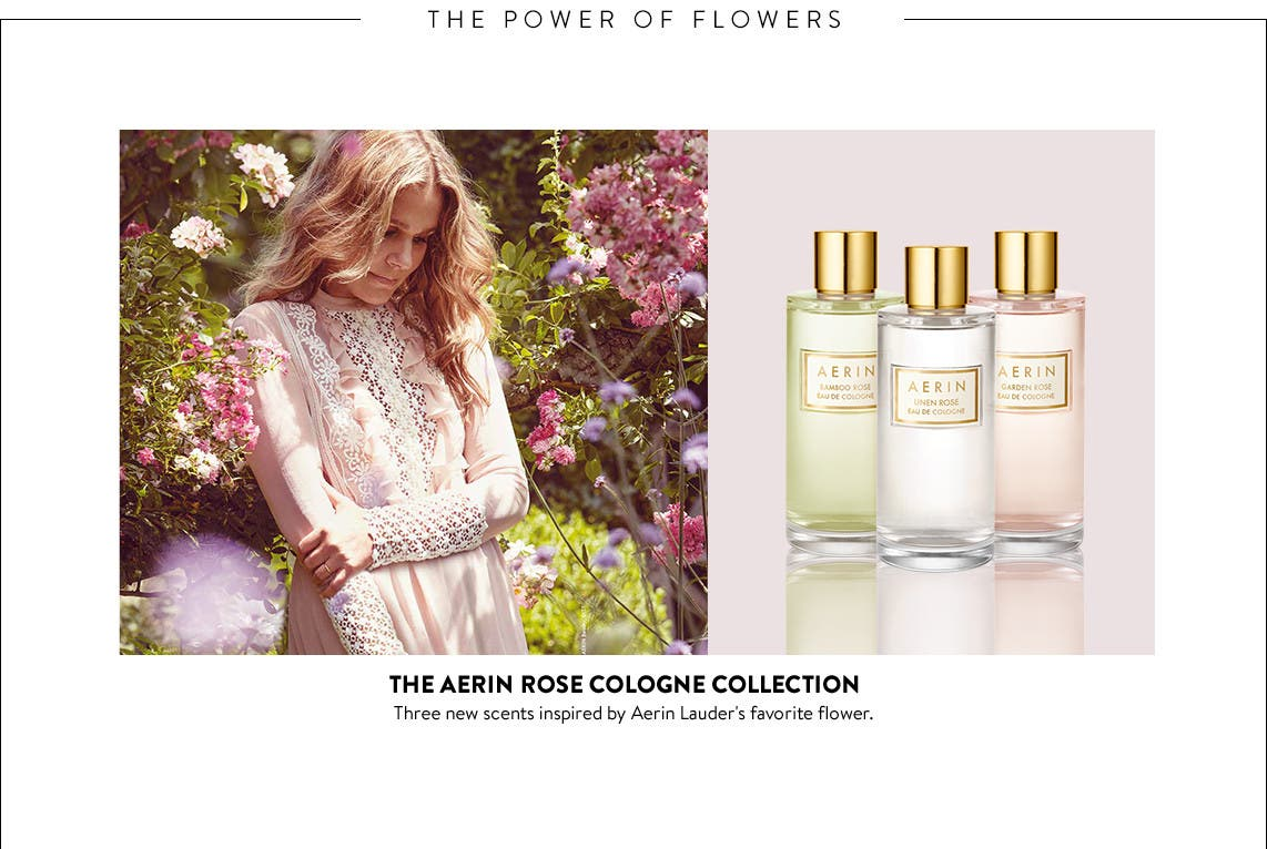 The Aerin Rose Cologne Collection.