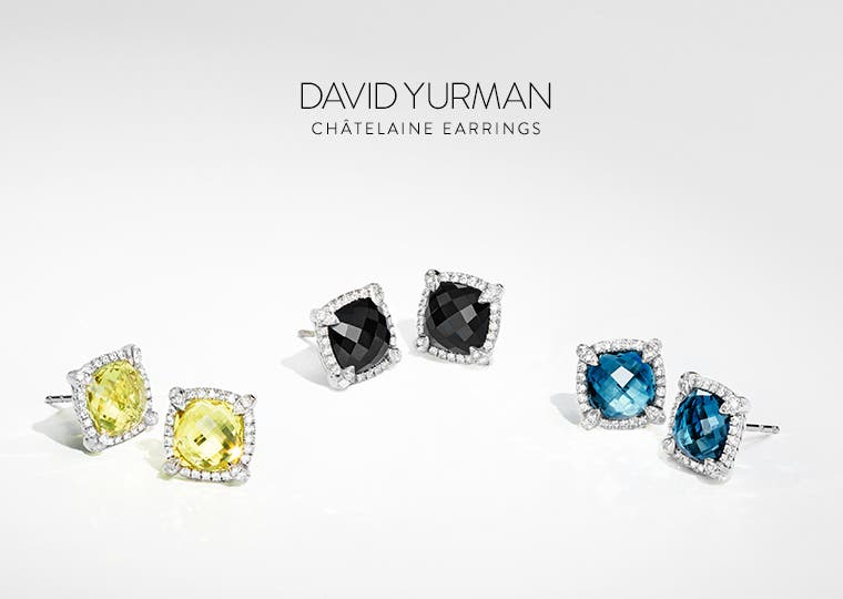 David Yurman Chatelaine earrings.