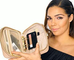 Play video about The Power of Makeup Planner Collection Simply Chic by Trish McEvoy.