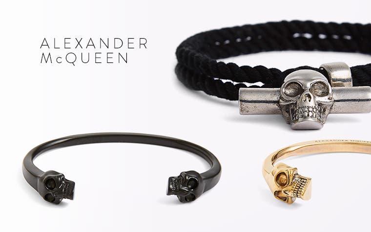 Men's designer accessories.