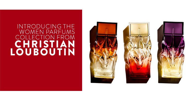 Introducing fragrance from Christian Louboutin.