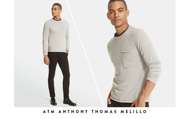 ATM Anthony Thomas Melillo sweaters and more men's designer clothing.