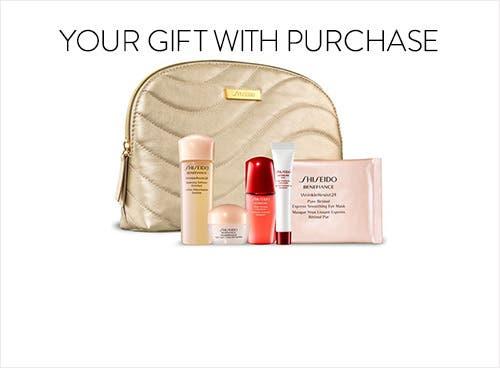 Shiseido gift with purchase.