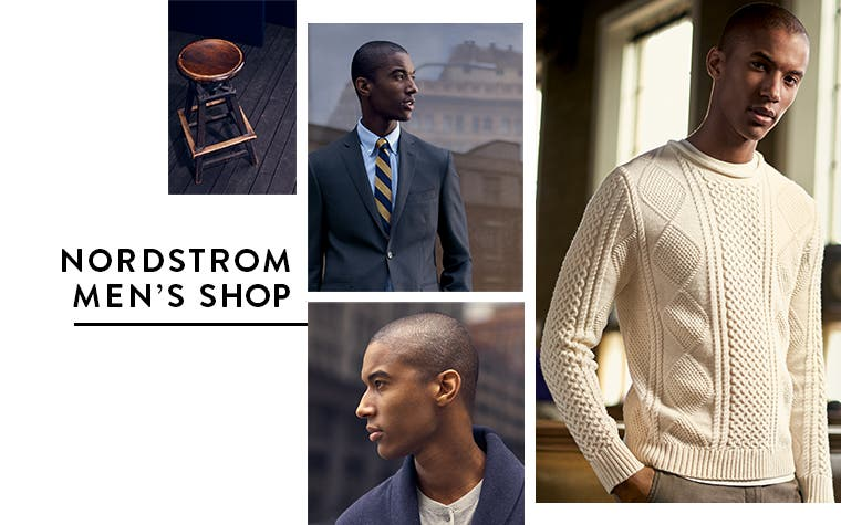 Nordstrom Men's Shop clothing and more.
