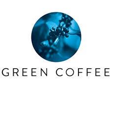 Green coffee.