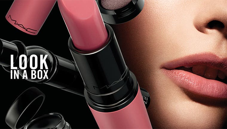Anniversary sale beauty exclusives: M·A·C Look In A Box sets.
