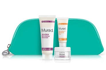 Receive a free 4-piece bonus gift with your $125 Murad purchase