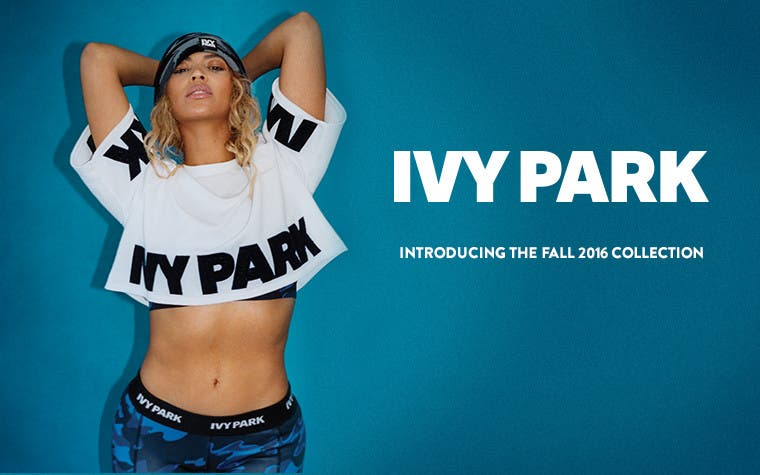 Introducing IVY PARK Fall 2016 activewear for women.