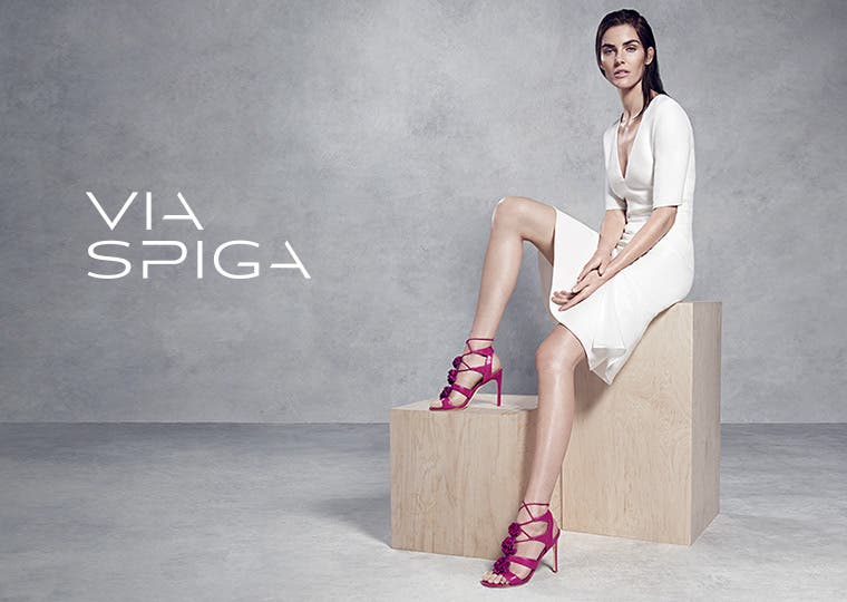 Via Spiga shoes and clothing.