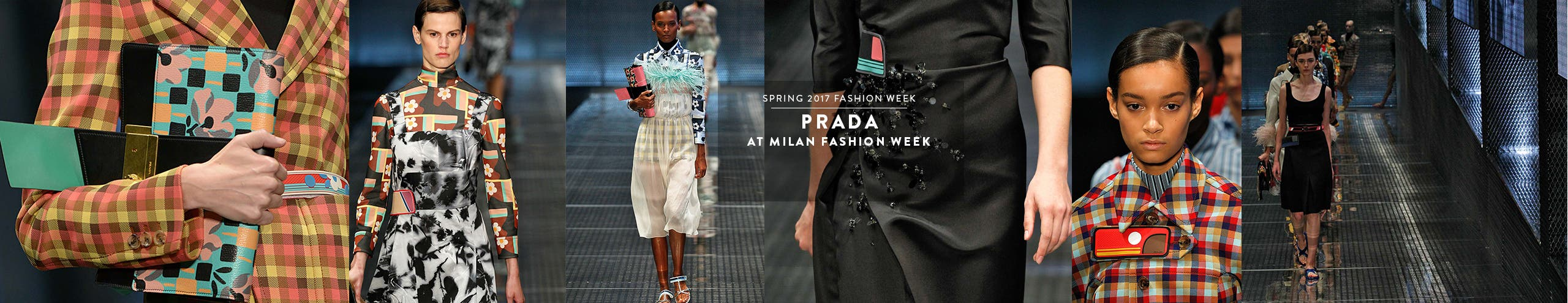 Prada at Milan Fashion Week, spring 2017.