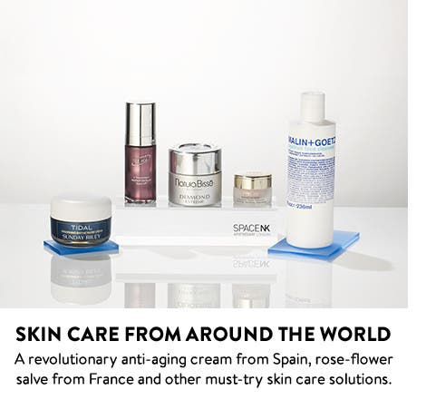Skin Care from around the world.