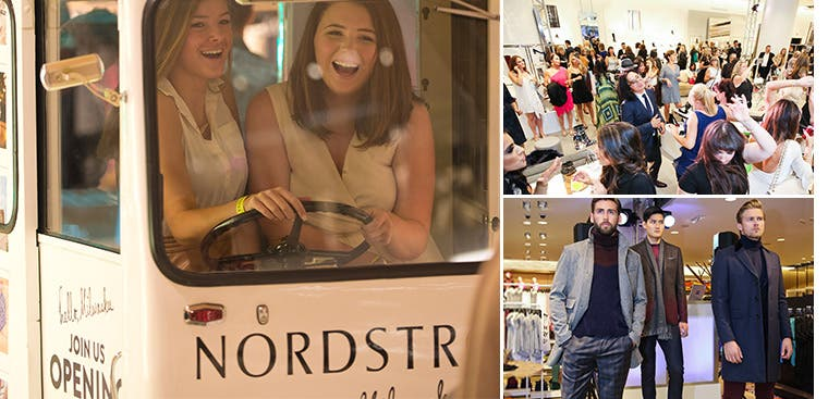 Nordstrom new store galas.