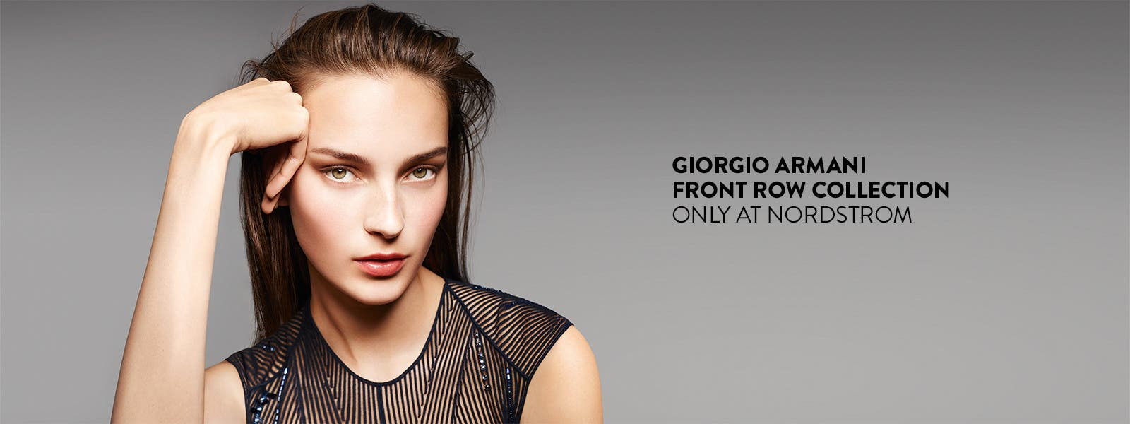 Giorgio Armani Front Row collection: only at Nordstrom.