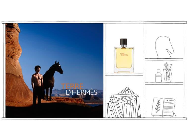 Hermès fragrances for women and men.