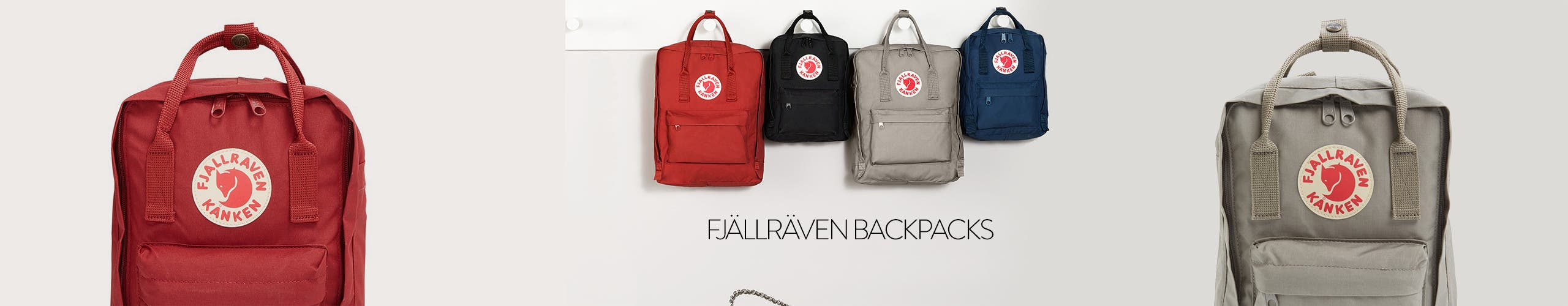 Fjällräven backpacks for back to school.