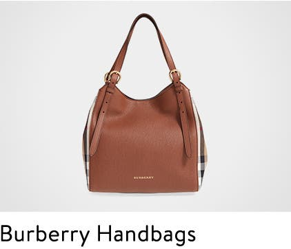 Burberry handbags.