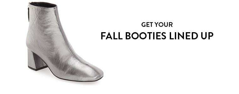 Get your fall booties lined up with Topshop shoes.
