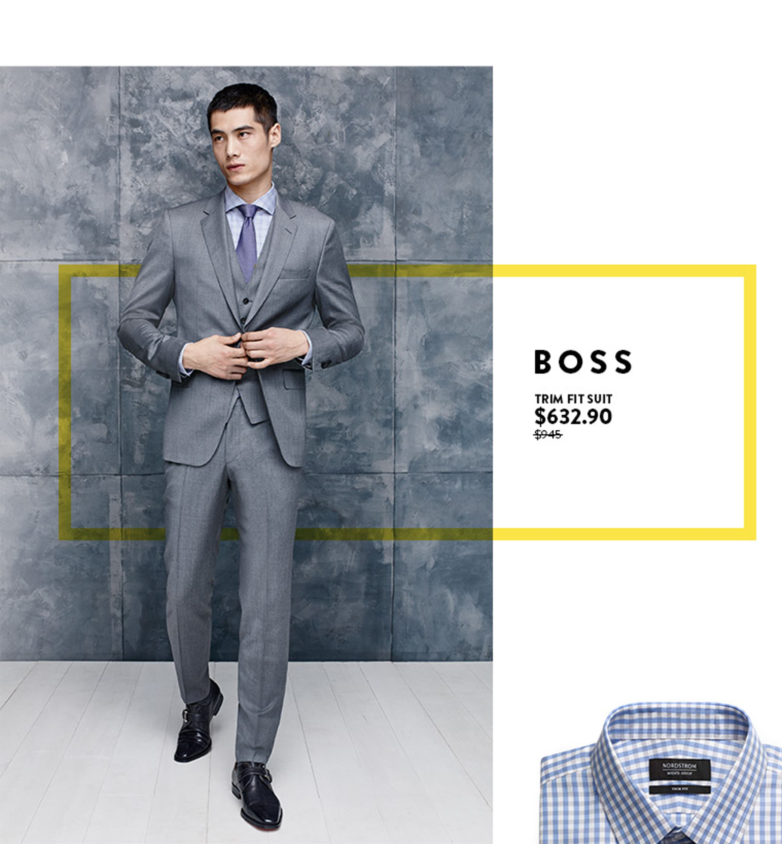 Anniversary Sale: Save on men's suits and sport coats from BOSS and more.