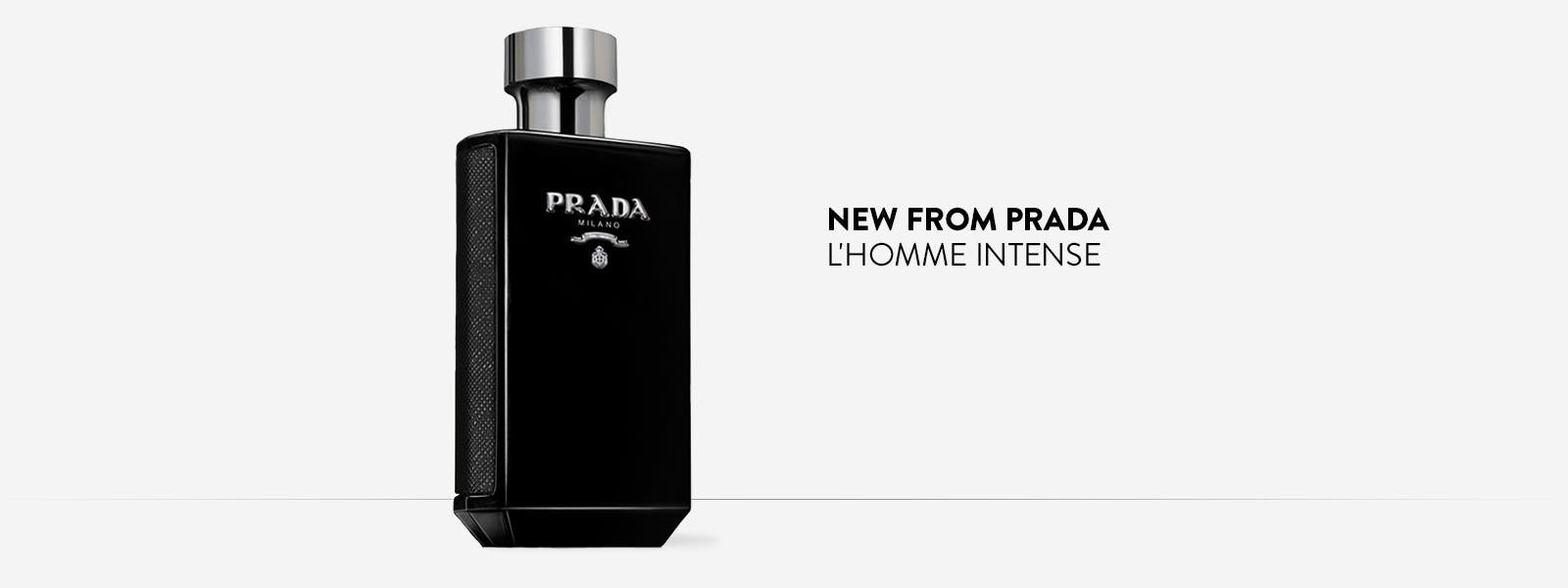 New from Prada: L'Homme Intense.